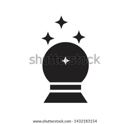 Magic icon vector ,magic wand illustration