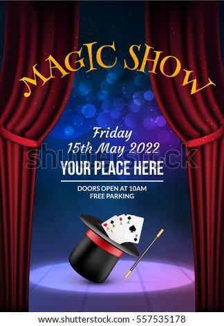 magic show poster design