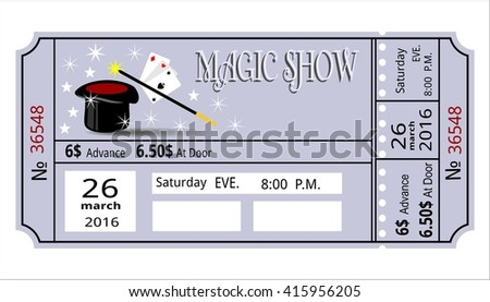 Great Show Ticket Template Images >> Show Ticket Template Ad Sense ...