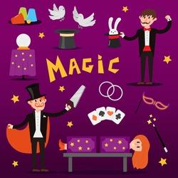 Magic simple icons dove couple set
