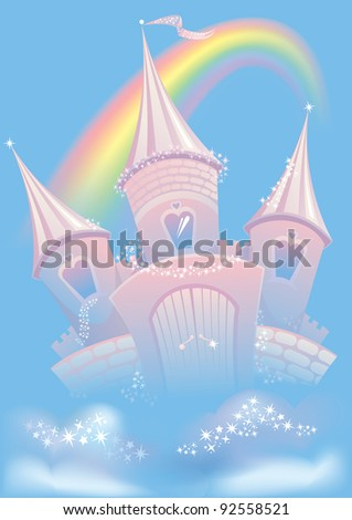 magic sky castle