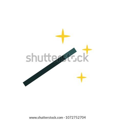 Magic Stick Flat Icons Download Free Vector Art Stock Graphics