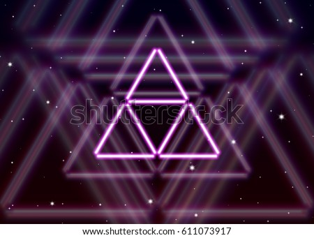 magic triangle symbol spreads