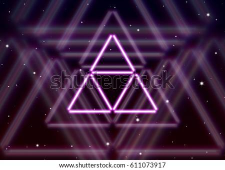 magic triangle symbol spreads