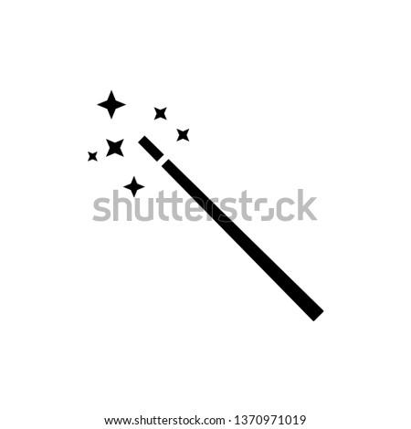 Magic wand icon vector templates