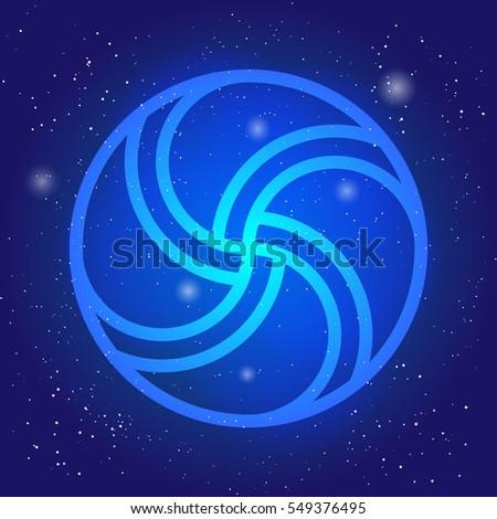 magic wheel 3d sacral geometry