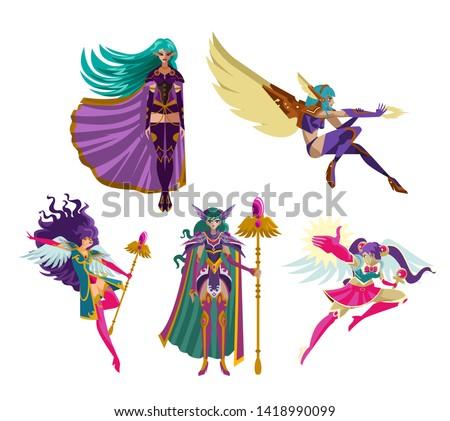 magical anime rpg elf fantasy