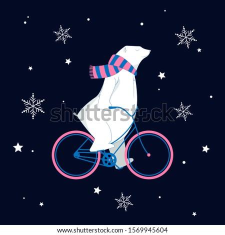 magical christmas illustration