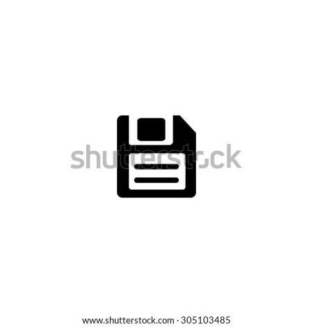 magnetic floppy disc for