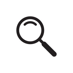 magnifier icon vector flat design