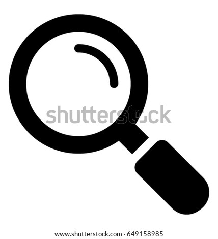 Magnifier Vector Icon