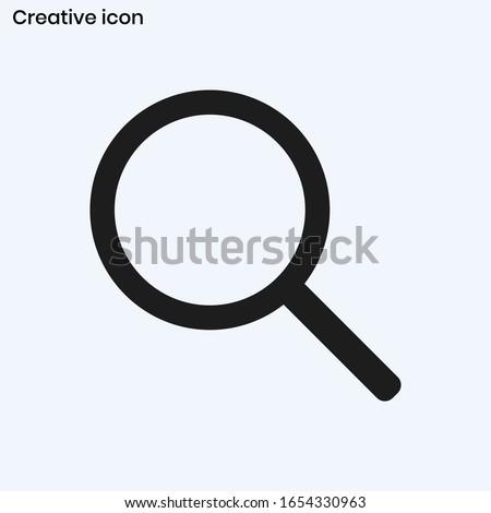 Magnify icon vector eps 10