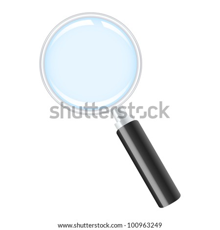 Magnifying glass icon.