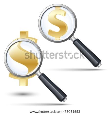 jyxuvawaky: cartoon dollar sign eyes