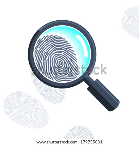 magnifying glass with
