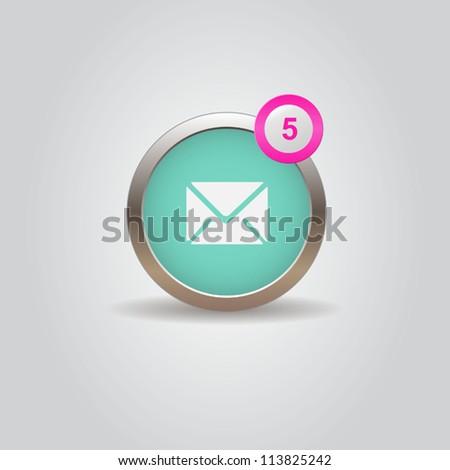 Mail box UI icon