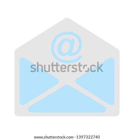 Mail correspondence icon. Read Message sign. E-mail symbol. Quality design elements. Technology mail correspondence button. Editable icon. Vector