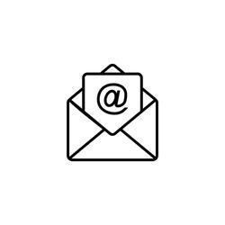 Mail Icon, Envelope Icon Vector