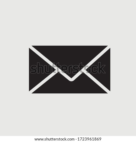 Mail icon. Envelope sign. vector illustration