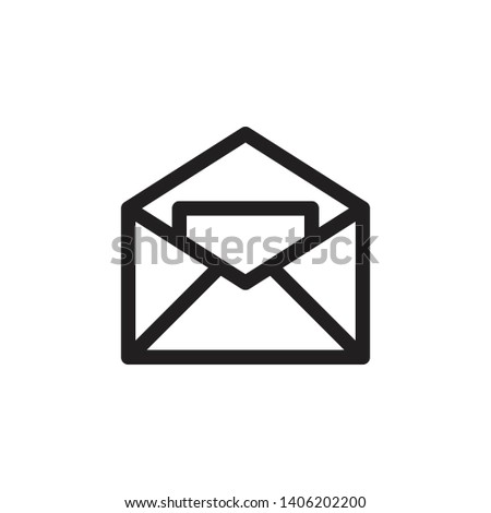mail icon, mail vector, mail illustration, mail eps10