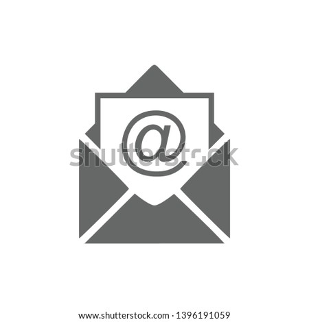 mail icon vector symbol email
