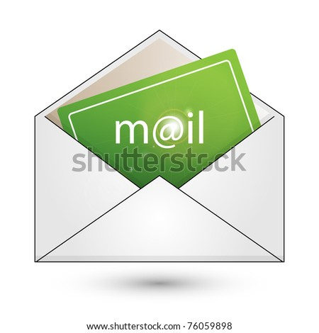 Mail - vector. Easy to edit.