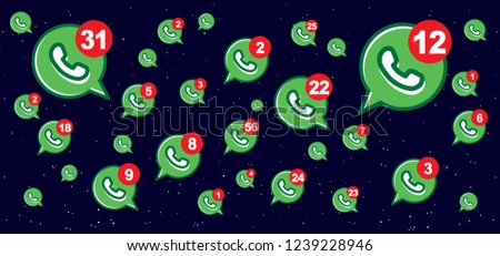 Mailbox chat Contact us symbols Social Media network icons icon call us email at mobile signs sign fun funny talk Network digital chat People connect business digital school whatsapp app Vector tags