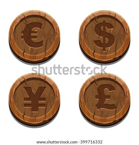 main currencies symbols