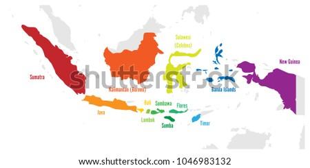 main islands of indonesia