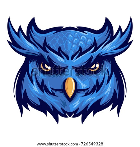 majestic nocturnal bird owl