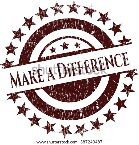 Make a Difference rubber grunge seal
