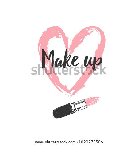 make up and beauty concept