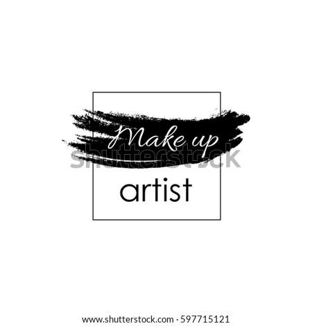 make up artist concept vector