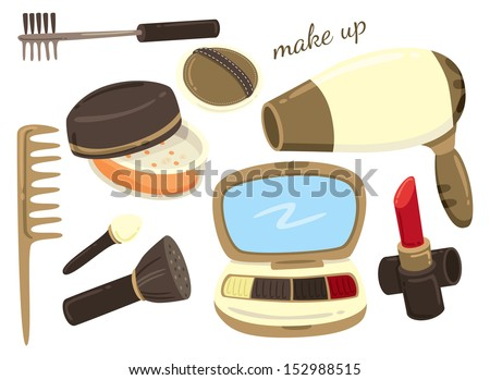 make up kit icon