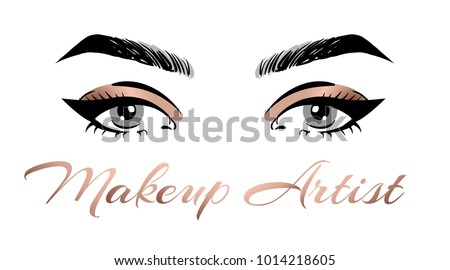 makeup artist business card