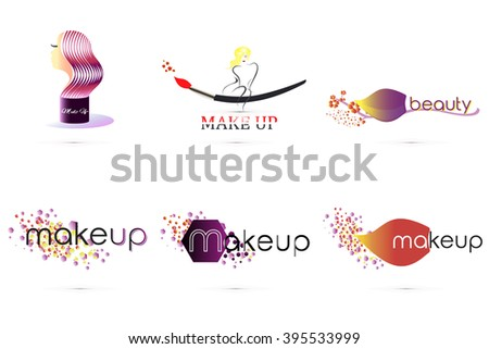 makeup logo decorative