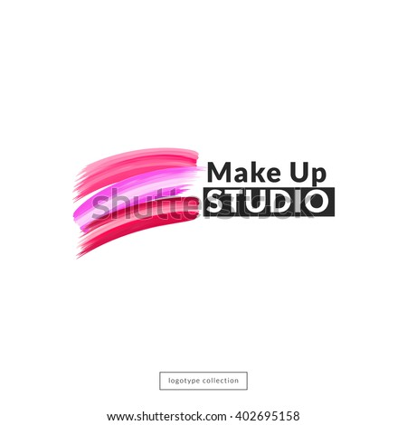 makeup studio  logo design