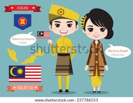 malaysia boy and girl in
