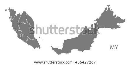 Malaysia On The World Map.Malaysia Vector Map Download Free Vector Art Stock Graphics Images
