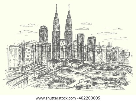 malaysia kuala lumpur cityscape