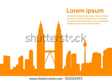 malaysia kuala lumpur skyline