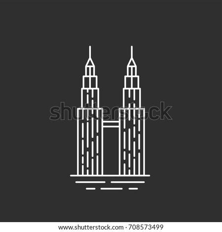 malaysia landmark twin towers
