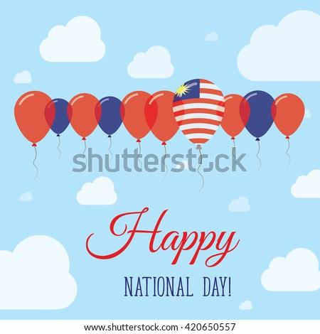 malaysia national day flat
