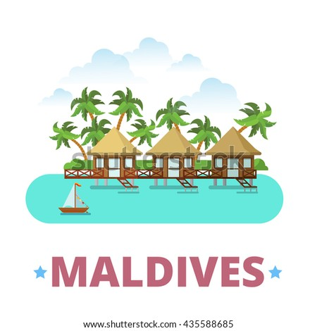 maldives country badge fridge