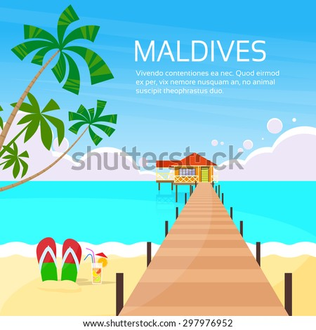 maldives tropical island long