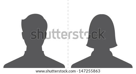 head silhouettes profile download free vector art stock graphics