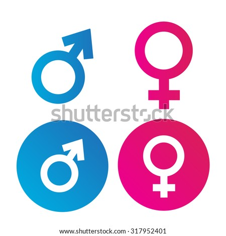 10 Male Female Symbol Vectors Download Free Vector Art Graphics