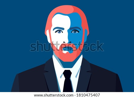 male avatar young bearded man
