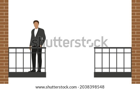 male character in business