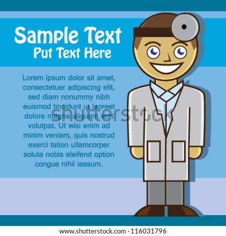 Male Doctor Illustration Vector